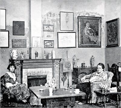 Gertrude Stein & Alice B Toklas: Alice Tokla, Paris Apartment, Manray, De Fleurus, 27 Rue, Men Ray, Rue De, Photo, Gertrude Stein