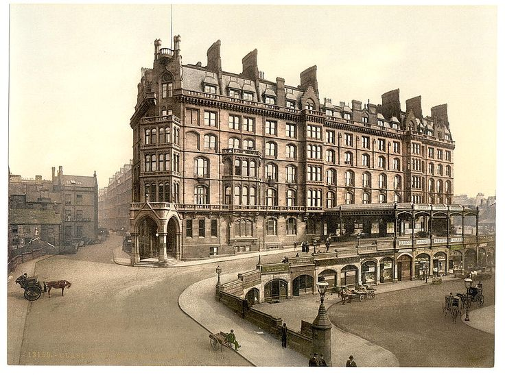 St Enoch's Station 1890's, Glasgow,  Lanarkshire, Scotland