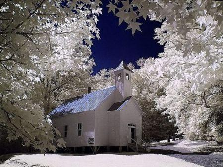 Cades Cove Baptist Church - Religious & Architecture Background ...