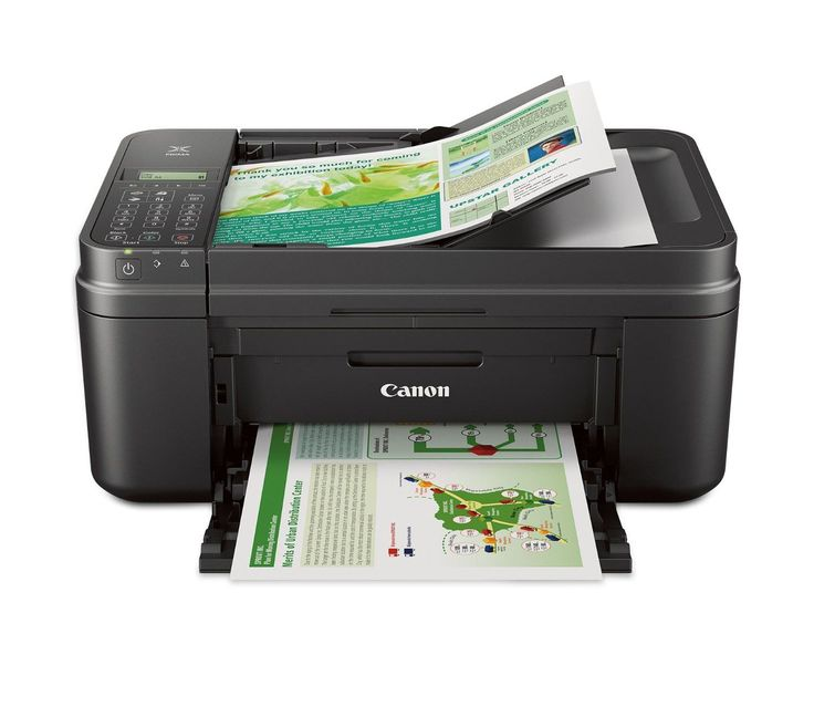 Canon MX492 Wireless All IN One Small Printer with Mobile or Tablet Printing