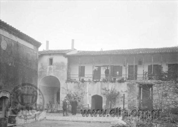 Greece,Limni Euboea,monastery Galataki. Ελλάδα,Λίμνη Ευβοίας.Μονή Γαλατάκη 1931
