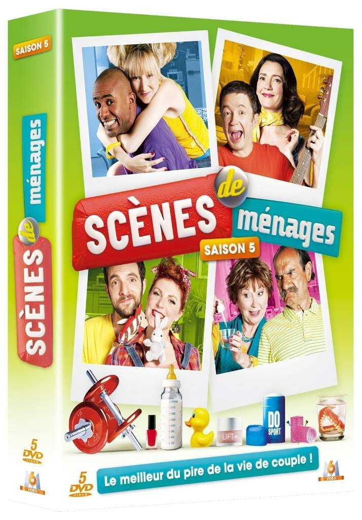 Scenes de menages saison 5 en dvd