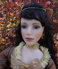 Куклы из смолы - Золотое сердце