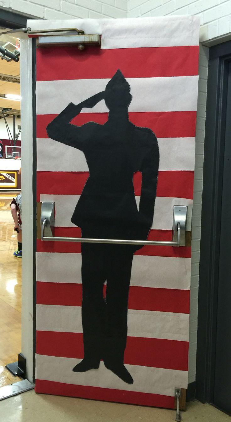 Veterans Day Classroom Door Decoration Ideas : Best bulletin boards july th veterans day memorial