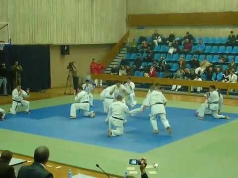 Показательные выступления Чемпионат России по Ашихара карате