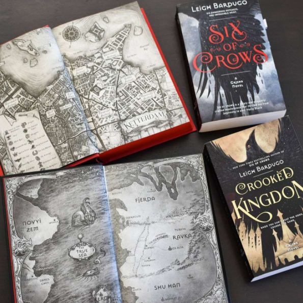 """""""The Six of Crows duology is a thrilling fantasy about an impossible heist carried out by a cast of super-diverse thieves and crooks. It's about so much more than mental illness — which is why I love it so much. This is a fantasy novel that just happens to star characters who struggle with mental health issues, particularly PTSD. It creates conflict in the plot, yes, but is never a character's defining struggle or treated as something that will be magically fixed by the end of the…"""