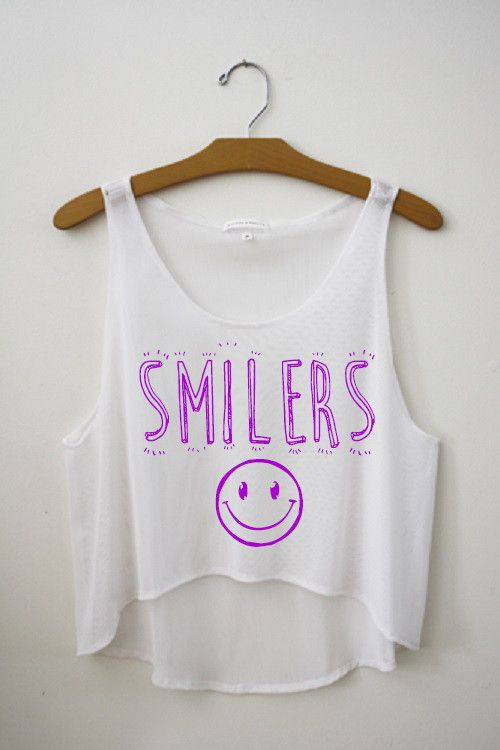Smilers Crop Top