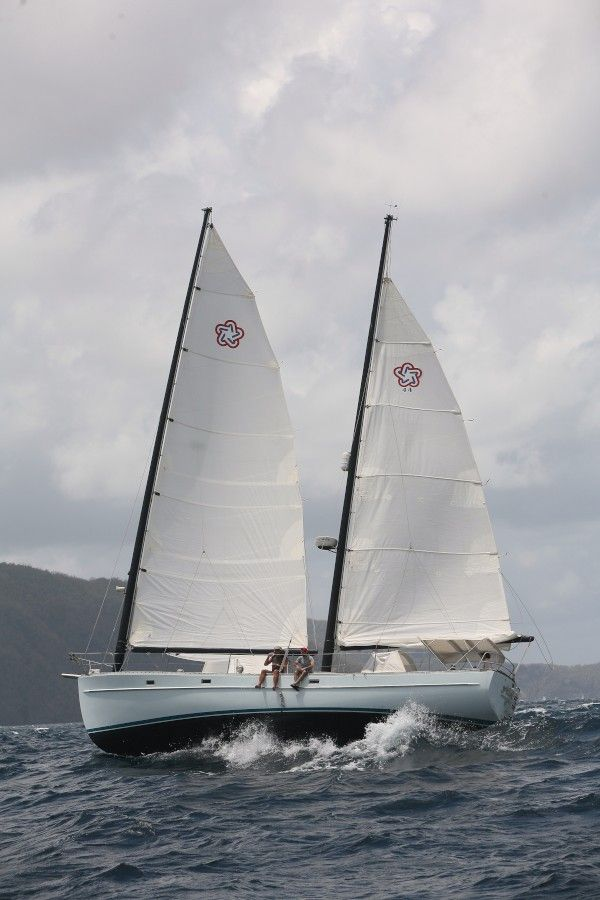 Freedom 44 Allana - a Catboat Ketch | Ketch Me If You Can | Pinterest | Freedom