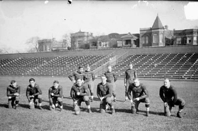 The Chicago Bears in 1932 when there were only 8 NFL teams