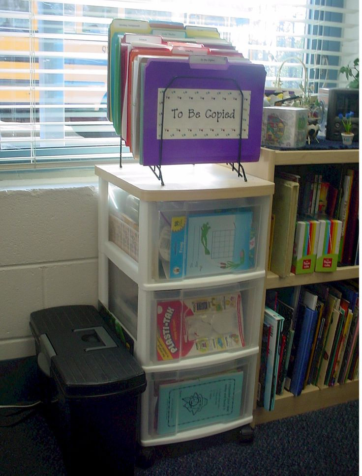 Great classroom organization tips. she takes you step by step organizing your