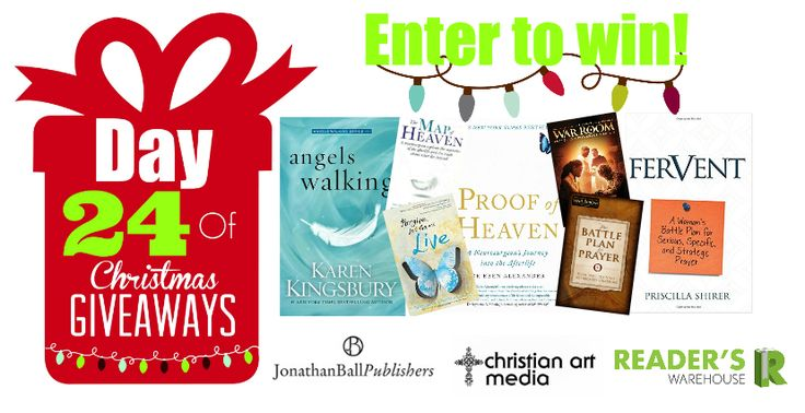 Day 24 Hamper will help you on your path to enlightenment. Packed full of incredible titles from @JonathanBallPub & Christian Art Media this hamper is sure to give you a fresh outlook on everything you do. Enter here: https://gleam.io/LtH4x/day-24-of-christmas-giveaways