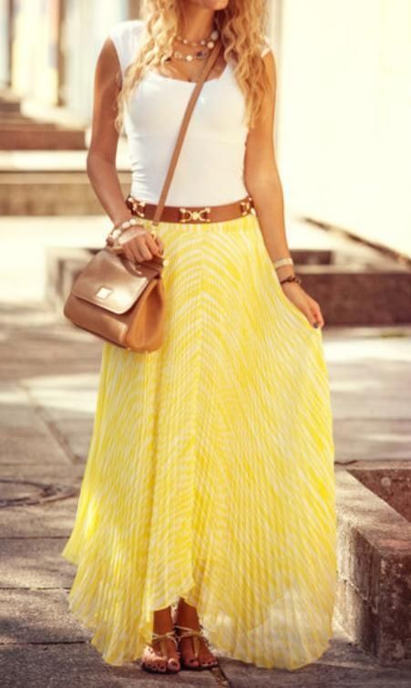 #street #style summer in yellow @wachabuy