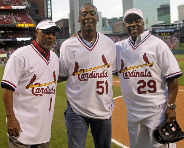 Ozzie Smith, Willie McGee, Vince Coleman....McGee is one of my all-time favorite players!