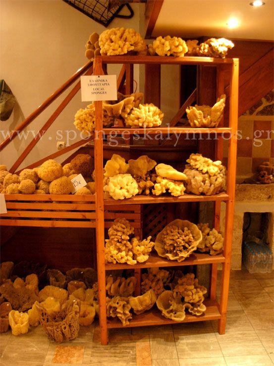 Greek Natural Sponges - Kalymnos Sponges' Warehouse