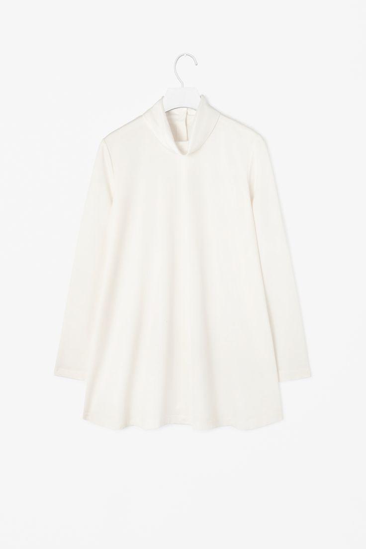 Silk collar top