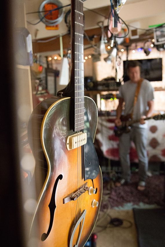 Inside Ty Pennington's #Music Man Cave