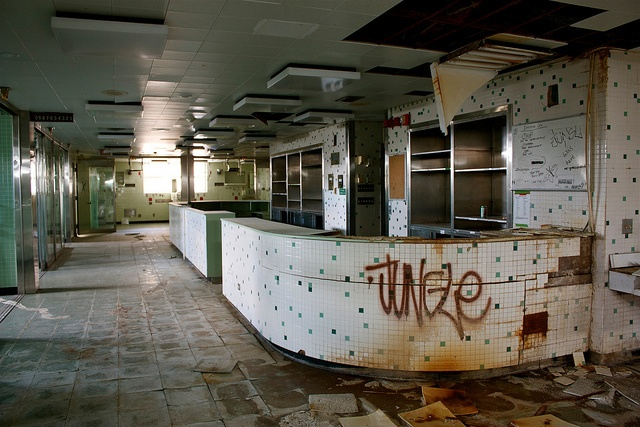 Abandoned Edgewater Hospital series. http://www.flickr.com/photos/kenfagerdotcom/sets/72157625981858222/
