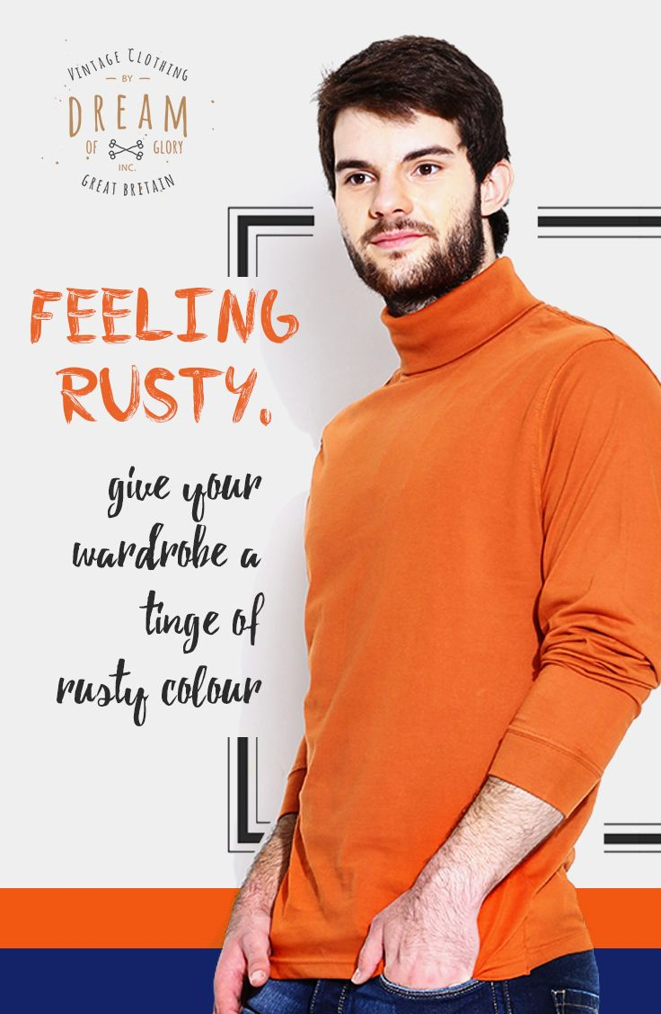 Even though it's not officially #winter , there's no time like the present to revamp your #wardrobe . And what better way to #change things up than with a new #hue ?  Meet #Rust color, a chic blend of orange and brown, that has quickly become the must-have color of the season.  #fashion #winteriscoming #mensfashion #clothing #like #fashionbloggers #indianfashionblogger #bloggers #london #india #instafashion #follow #mensapparel #colorful #braceyourself