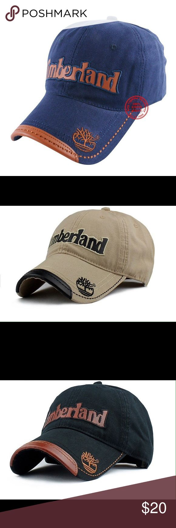 Timberland Baseball Hats Brand new adjustable Timberland baseball caps! Style at it's best Timberland Accessories Hats