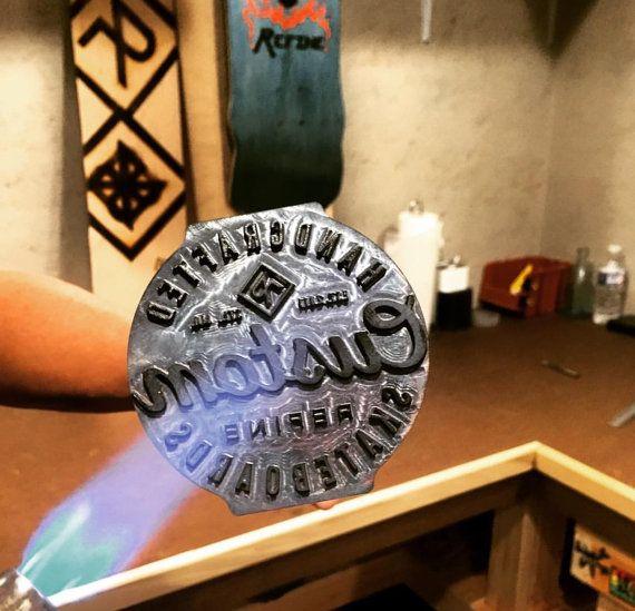 Cast Iron Manually Fired Branding Irons by RubberBallsAndLiquor