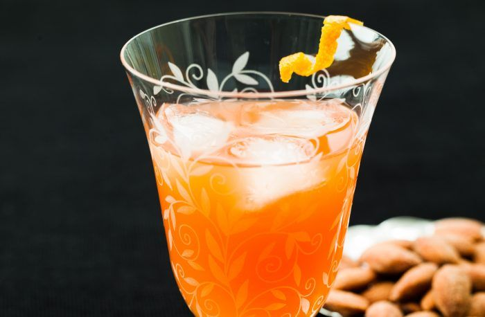 Fredagsdrinken – Campari- och clementindrink