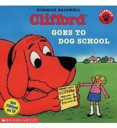 "Prep for back-to-school w/ a story featuring pets! Your students will love ""Clifford Goes To Dog School."""
