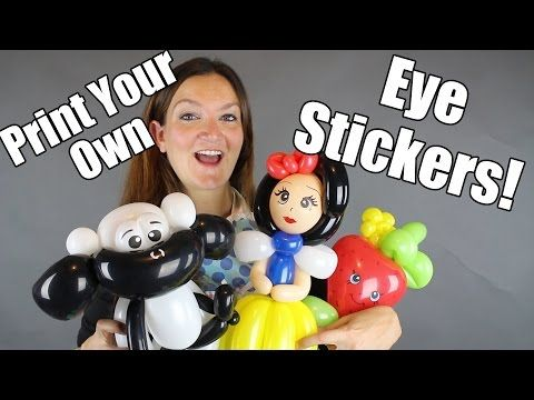 Let's make a Clown Balloon Animal! - Balloon Animal Tutorials with Holly the Twister Sister - YouTube