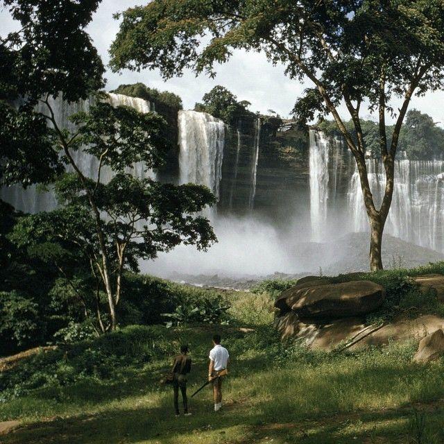 Kalandula falls in Angola