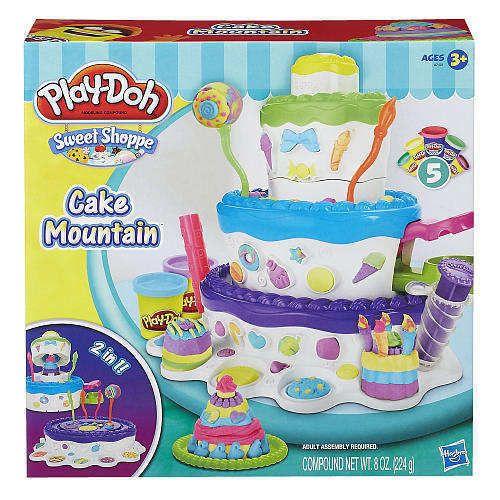 Controversial Sweet Shoppe Cake Mountain Hasbro Play-Doh set w Extruder NIB #Hasbro