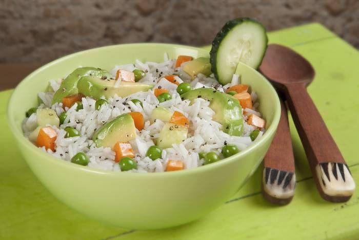 Receta de Ensalada de arroz y aguacates - Gallina Blanca