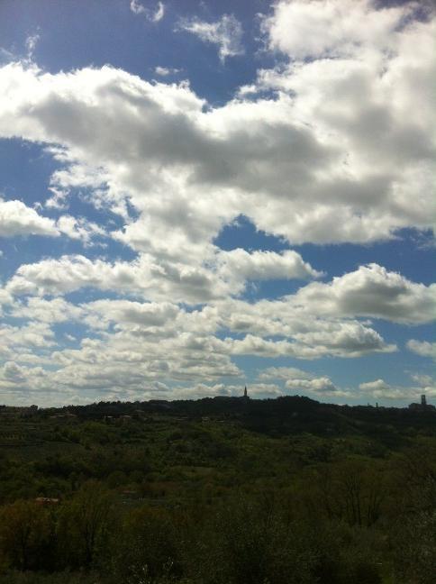 Umbrian sky