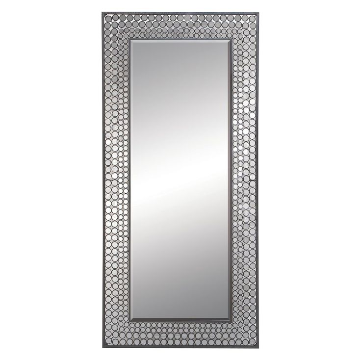 DecMode Contemporary Mosaic Tile Wall Mirror - 66747