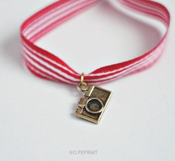 Sju - Camera #sopeppermint #sopeprmt #camera #bracelet