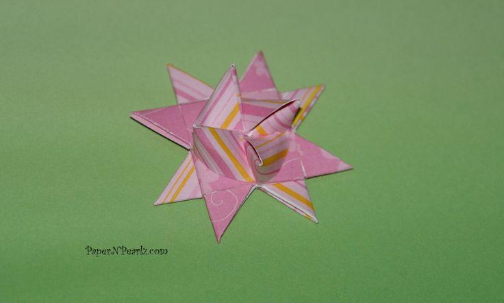 #origami Froebel Star