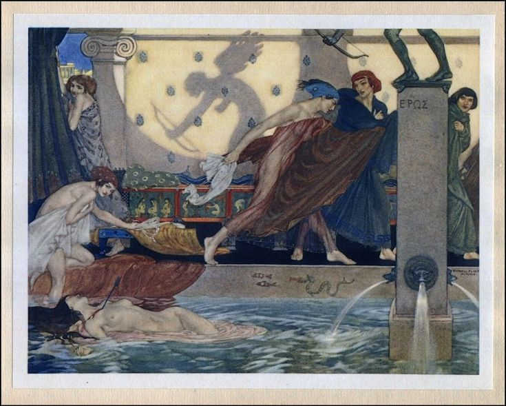art of the beautiful-grotesque: The Art of William Russell Flint