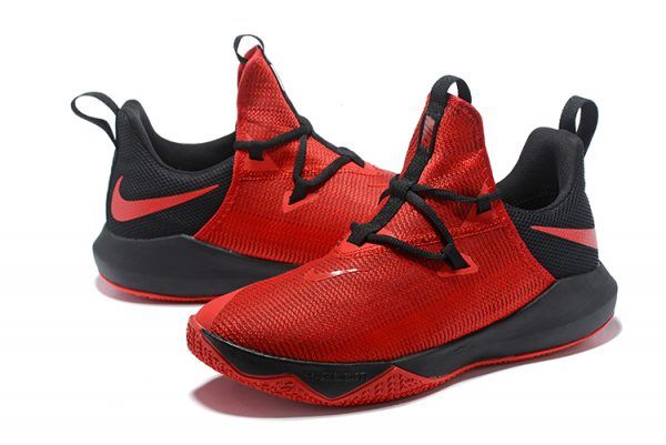 Men's Nike Zoom Shift 2 EP October RedBlack Basketball