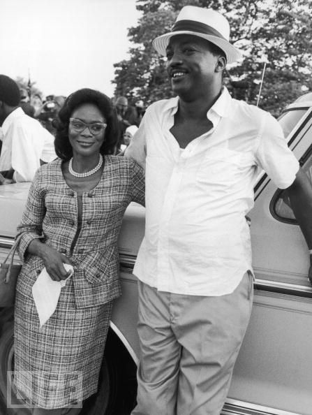 Cicely Tyson & Paul Winfield: King, filmed in Macon '75..