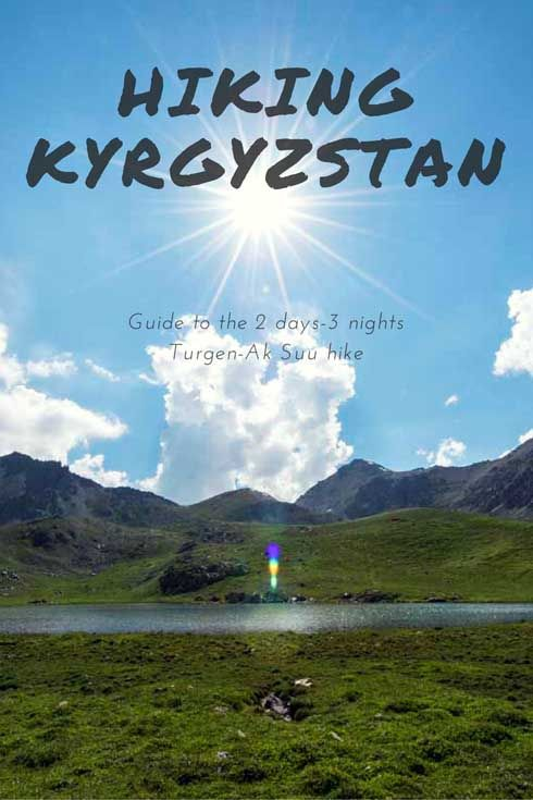 Turgen-Ak Suu Trek in the Tien Shan Mountains, Kyrgyzstan - where to trek in Kyrgyzstan, how to organize trekking in Kyrgyzstan, Kyrgyzstan trekking packing list and more