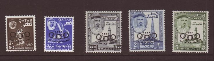 QATAR - 1964 Olympic Games