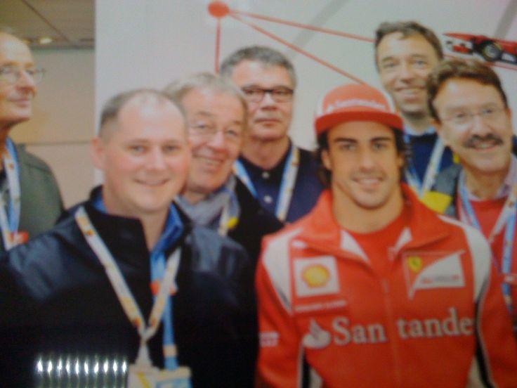 Am Wochenende ist Großer Preis von Monaco. War 2011 bei der Formel 1 am Nürburgring dabei. Die Zeit vergeht.