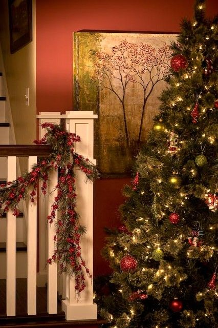 Craftsman Bungalow--SO missed a mantle and a staircase this year!