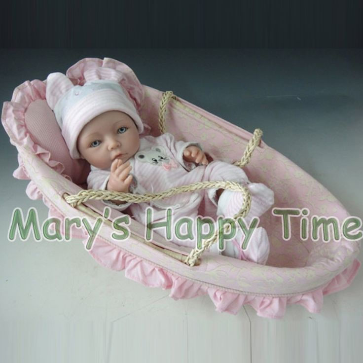 """40cm Silicone Reborn Baby Dolls 15"""" Handmade Girl Baby Reborn Doll Toy Gift for Children-in Dolls from Toys & Hobbies on Aliexpress.com 