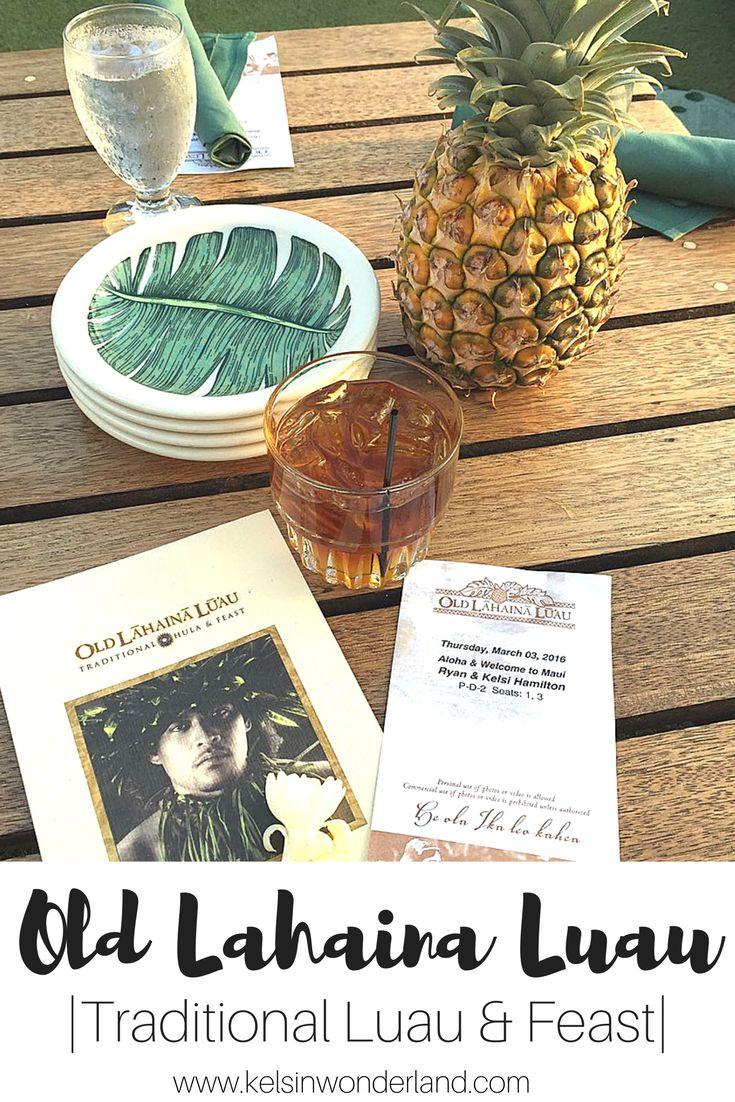 Get your Luau on at Old Lahaina Luau on Maui!