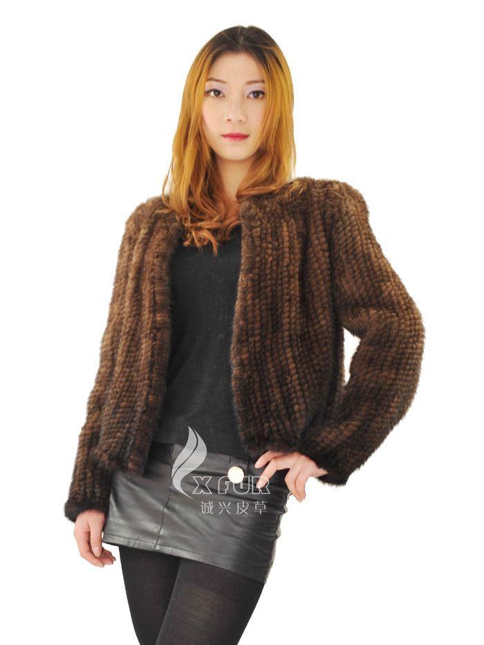 Cx g a 196a 2014 dames nouvelle mode manteau de vison manteau de fourrure kintted dans Fourrures et fausses fourrures de Accessoires et vêtements pour femmes sur AliExpress.com   Alibaba Group