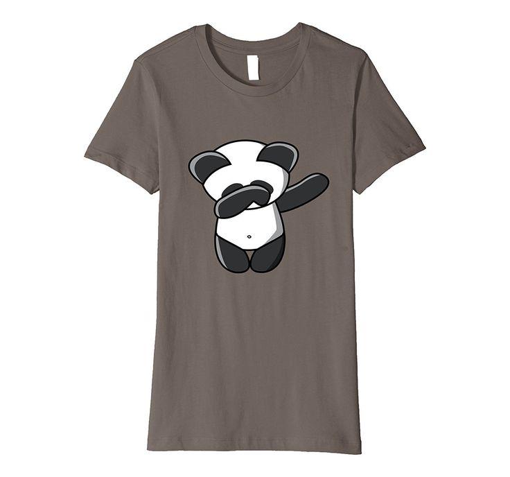 Panda T Shirt Dabbing Dab Dance Emoji TShirt
