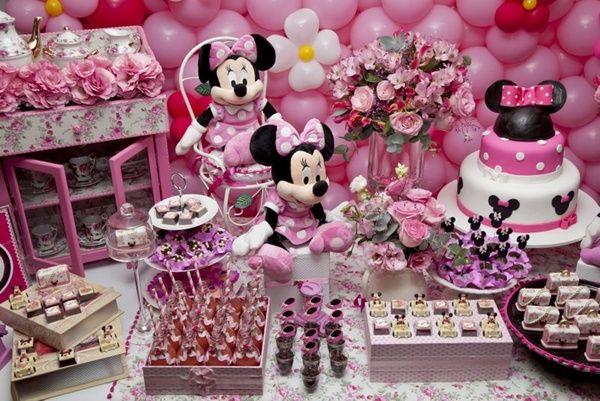 Festa minnie rosa pesquisa google ideias festa minnie - Fiesta de cumpleanos para nina ...