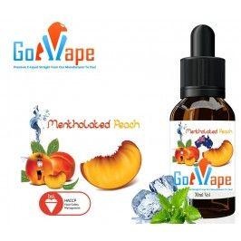 Mentholated Peach Flavoured E-Liquid