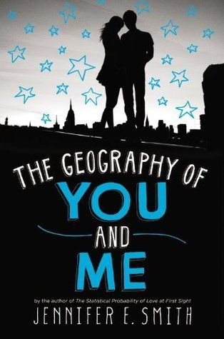 The Geography of You and Me  Lucy and Owen meet somewhere between the tenth and eleventh floors of a New York City apartment building, on an elevator rendered useless by a citywide blackout. After they're rescued, they spend a single night together, wandering the darkened streets and marveling at the rare appearance of stars above Manhattan. But once the power is restored, so is reality. Lucy soon moves to Edinburgh with her parents, while Owen heads out west with his father.