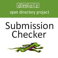 It can take a long time to get accepted by DMOZ. This tool saves you time by making it easy to check if you have been added.