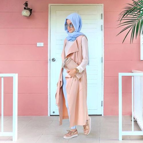 candy colors hijab outfit- Eid hijab ready to wear http://www.justtrendygirls.com/eid-hijab-ready-to-wear/